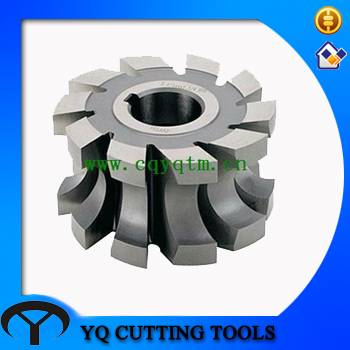 HSS coating TiN/TiAlN Concave milling cutter