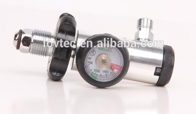 CGA540 bullnose oxygen regulator