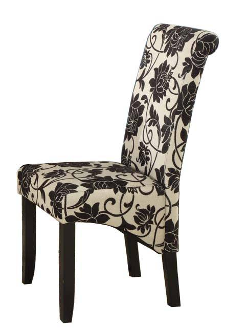 Solid Oak Dinning Chair Fabric