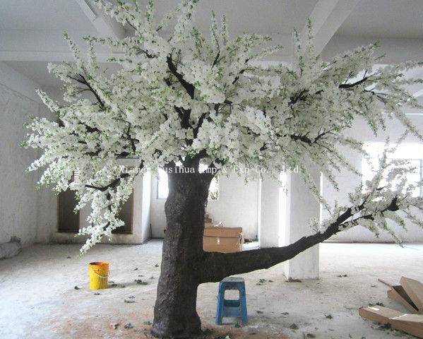 High Quality White Artificial Cherry Blossom Tree