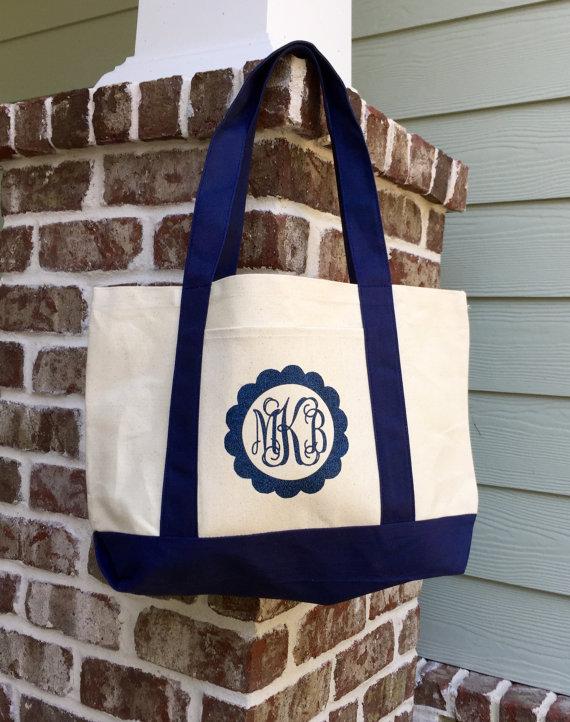 Diaper Bag/ Shopping Bag/ Canvas Tote Bag/ Grocery Bag