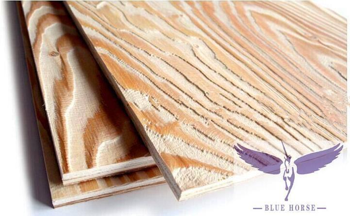 larch plywood&embossed larch plywood skyp baochenwood