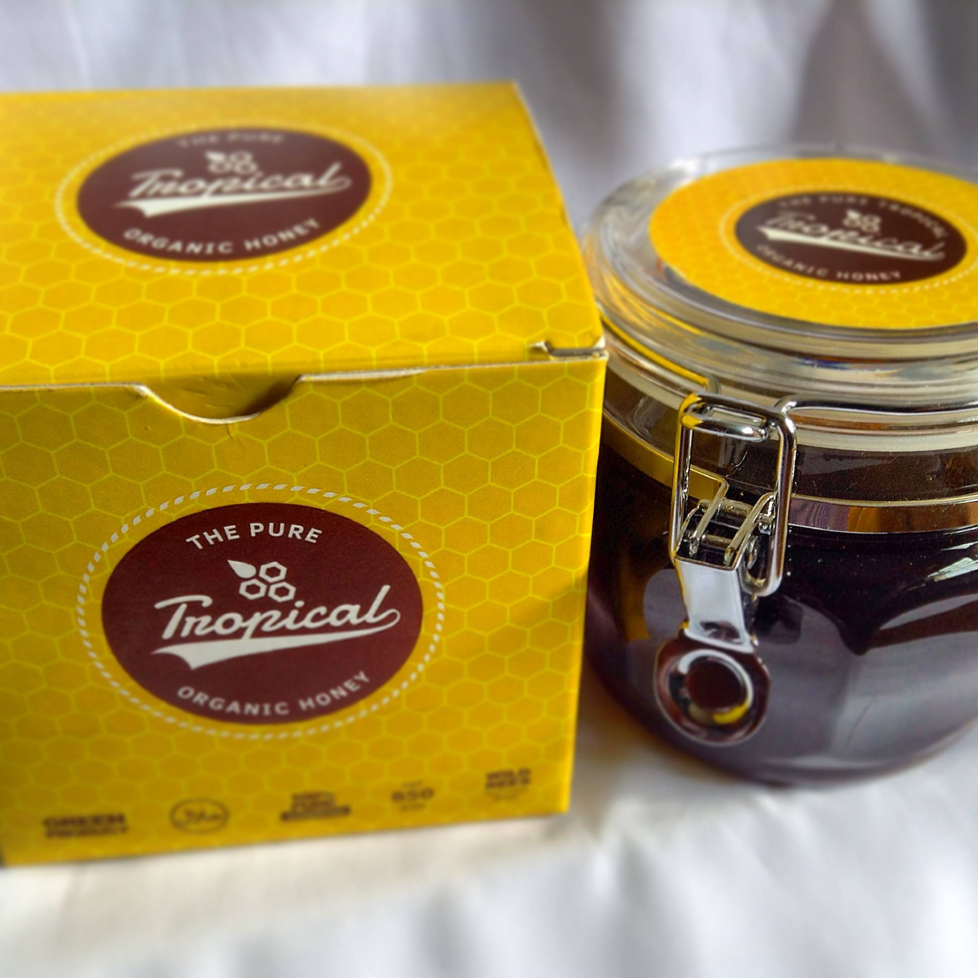 100% Pure Wild Bees Honey From Tropical Forest