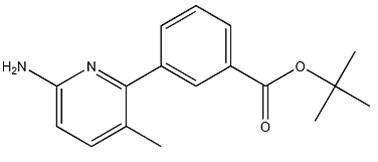 3-(6-Amino-3-methyl-pyridin-2-yl)-benzoicacidtert-butylester