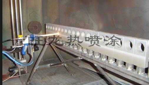 Thermal spray coating process (Valve WC coating)/HVOF thermal spray coating process