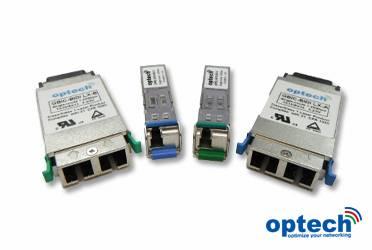 1.25Gbps BIDI BWDM SFP Optical Transceiver SFP-BX-U/D
