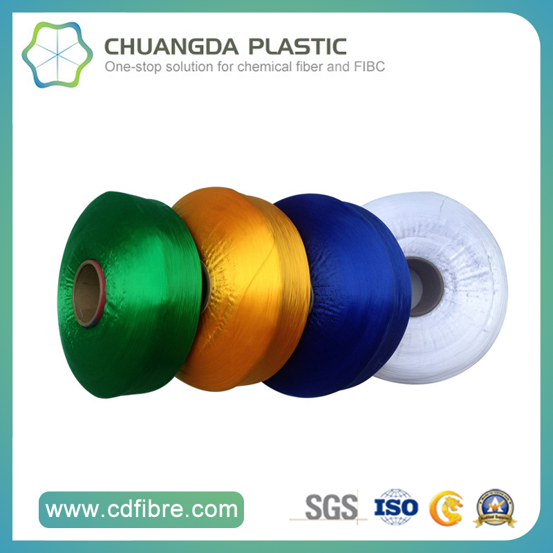 100% Textile Dyed Polypropylene Yarn for Clothes FDY