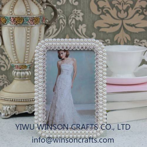 Wedding photo frame metal picture frame