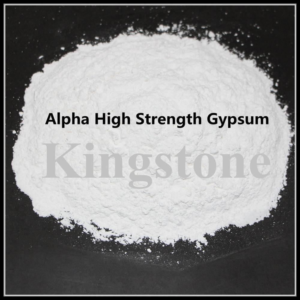 Alpha Gypsum Powder Plaster of Paris Powder