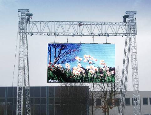 10mm led display with hanging bar