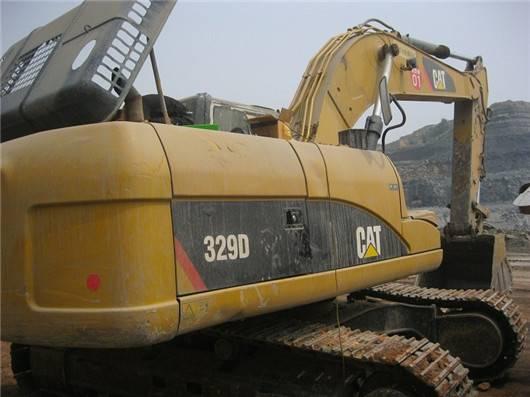 Used cat 329D excavator
