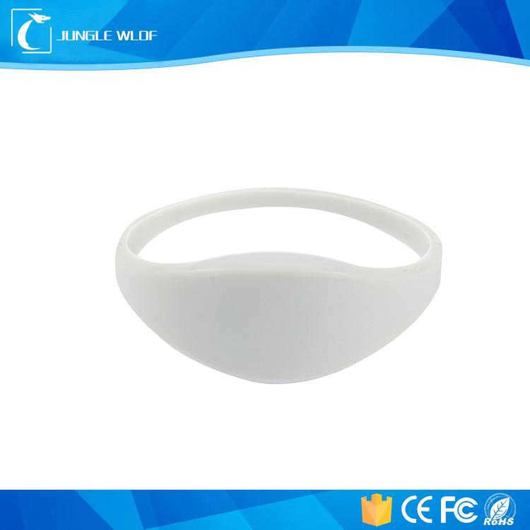 Customized Passive 125kHz Tk4100 RFID Wristband Access Control