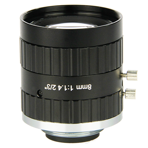 "75mm 1"" 8.0 Megapixel machine vision lens 20mm, 75mm"
