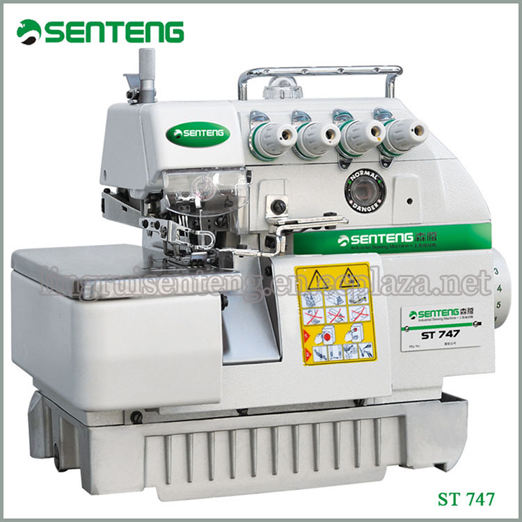 ST 747 Super High Speed Industrial Double Needle Sewing Machine