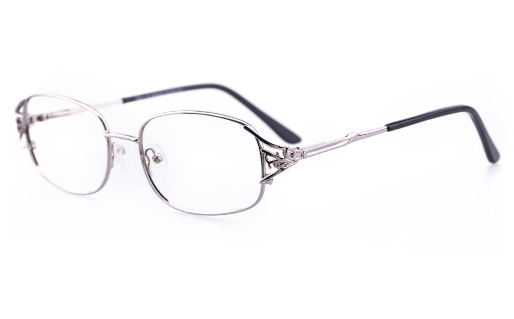 Gun 1110 Full Rim Oval Metal-Stainless Steel Glasses