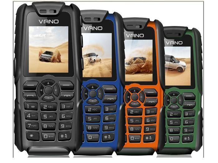 4400mAh Power Bank Phone with Rugged Dual Sim