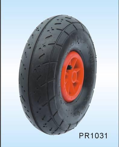 eco-friendly pneumatic wheelbarrow tire and hand truck tire 10*3.00-4