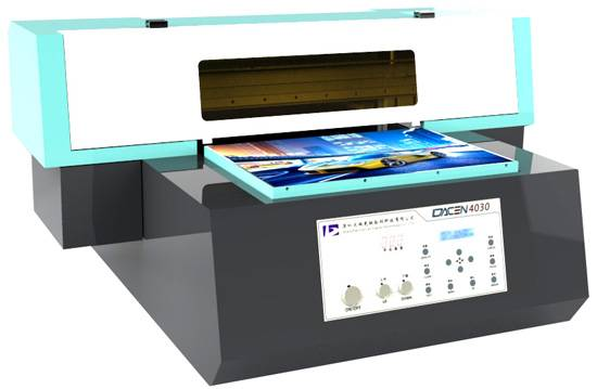 New A3 size UV Flatbed Printer CE Approved  for Plastic, Ceramic, Glass and Phone Case