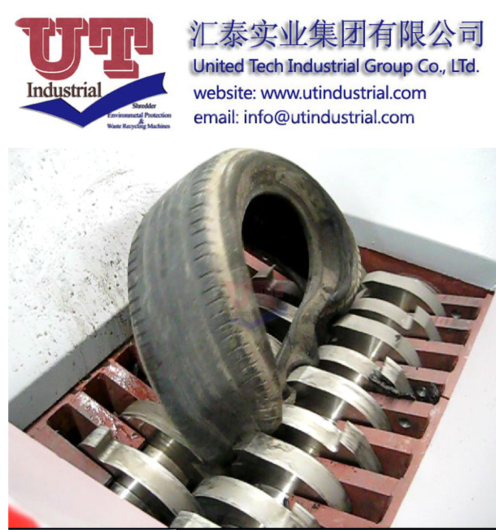 Tire Shredder/Tyre shredder machine/Tire recycling machine