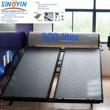Solar thermosyphon water heater of 300 liter