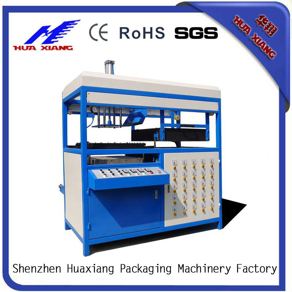 shenzhen factory plastic fruit boxes making production vacuum forming machines