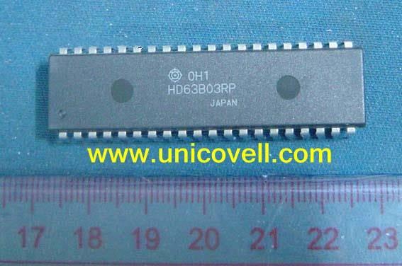 Wholesale 100% NEW Hitachi 8-bit microcontroller HD63B03RP HD63B03YP HD63B03XP