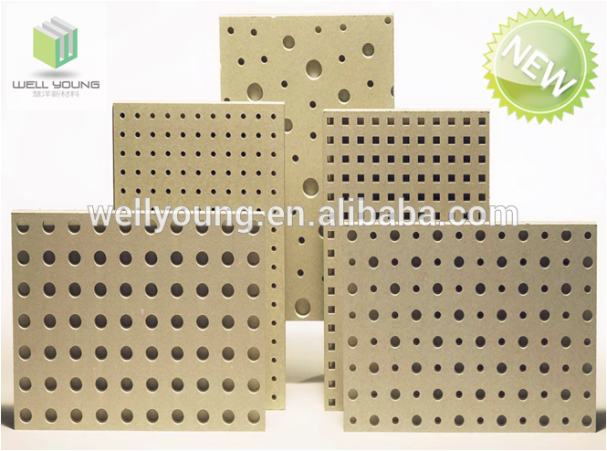 12mm perforated gypsum ceiling board
