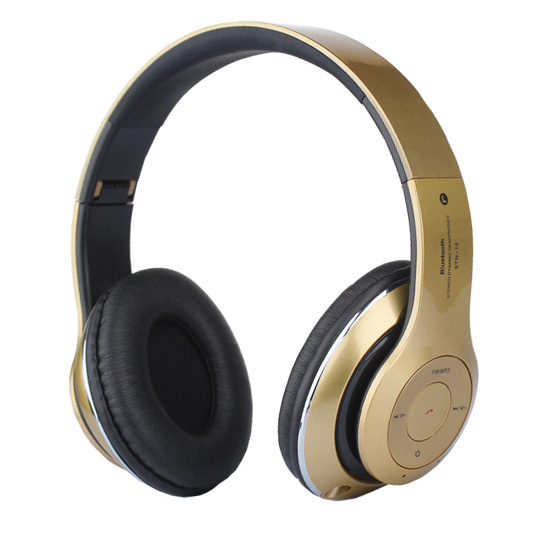 Foldable Over Ear Bluetooth Headphones with FM