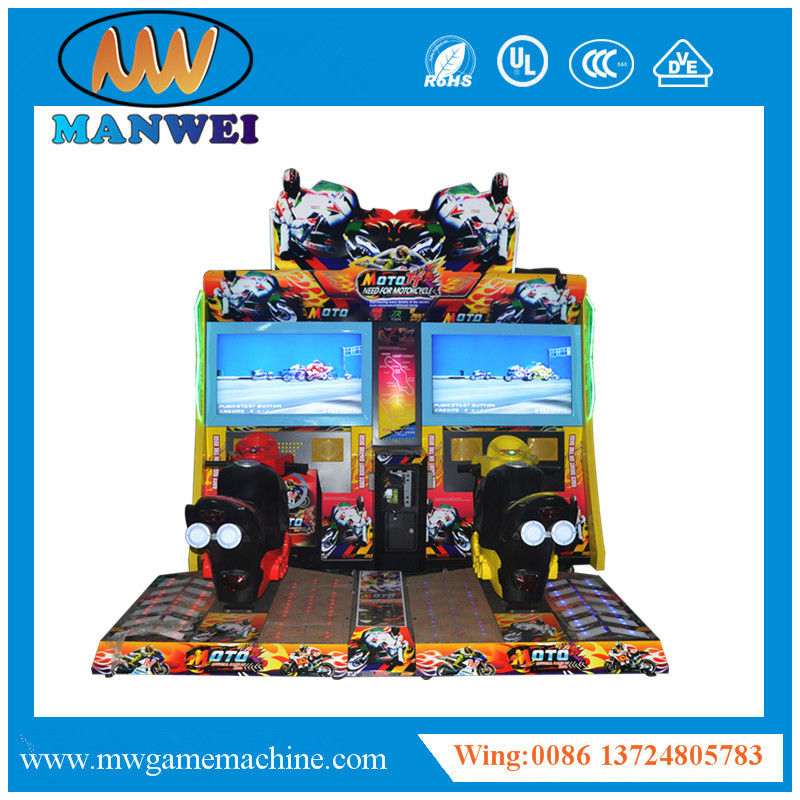 Hot Sale Game Machine Luxury Max TT Moto with Coin Operated and CE