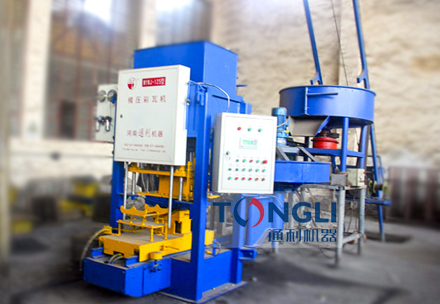 Cement hydraulic tile press machine for hot sale