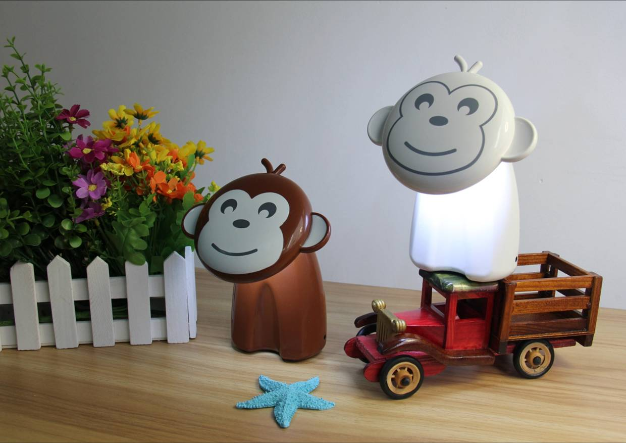 Happy Monkey Table Lamp