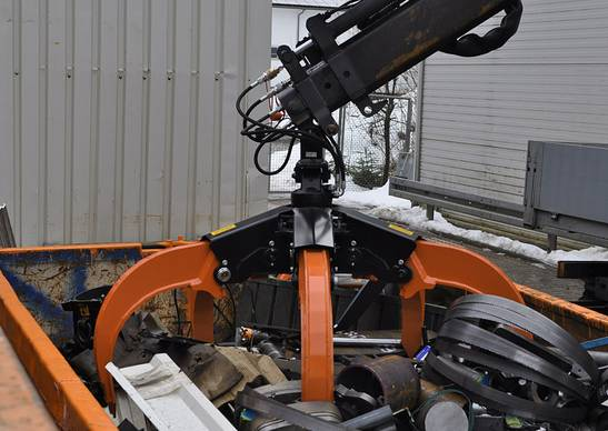 Orange Peel Grapple for excavator in 18-25 tons