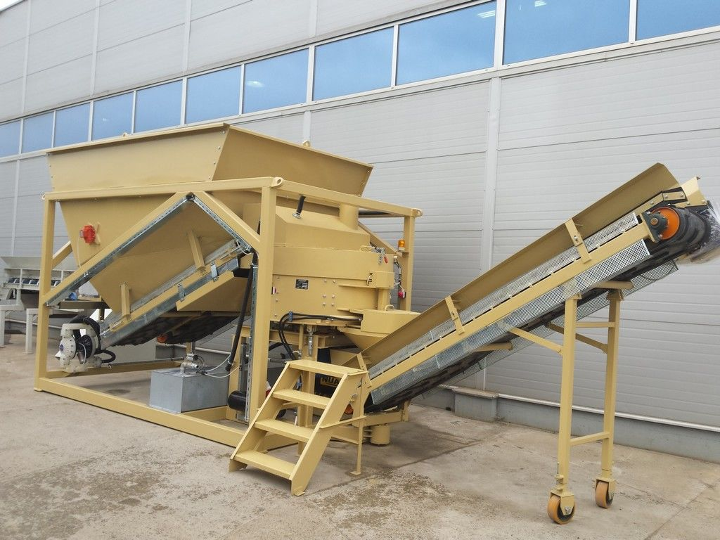 New Technology ES-15 Cold Asphalt Plant