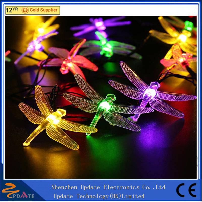 LED String Lights Solar Christmas Lights 100 LED for Outdoor Patio Lawn Landscape