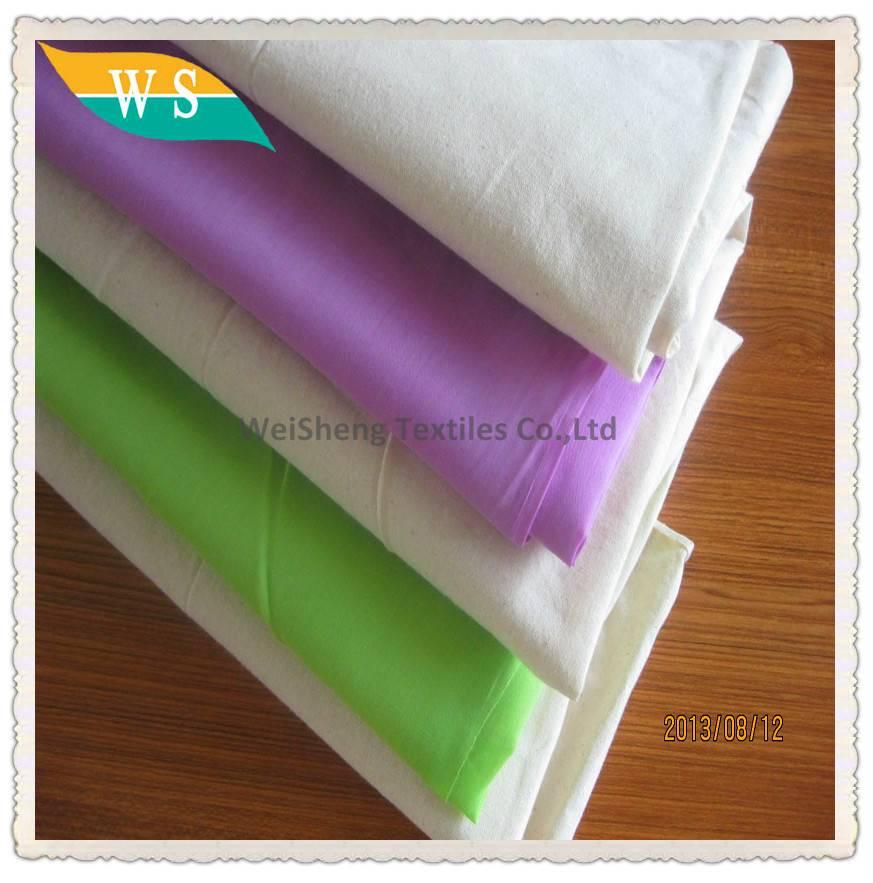 100% polyester ring spun cheap fabric