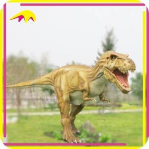 KANO4076 Amusement Park Highly detailed Animatronic Fake Dinosaur.
