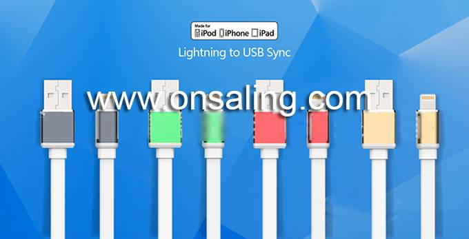 CF-CA07IP 8Pin USB Charge/Sync data cable