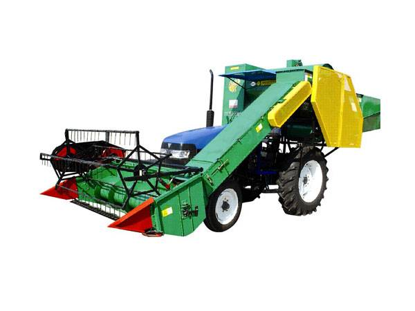 4LX-2B Knapsack grain combine harvester