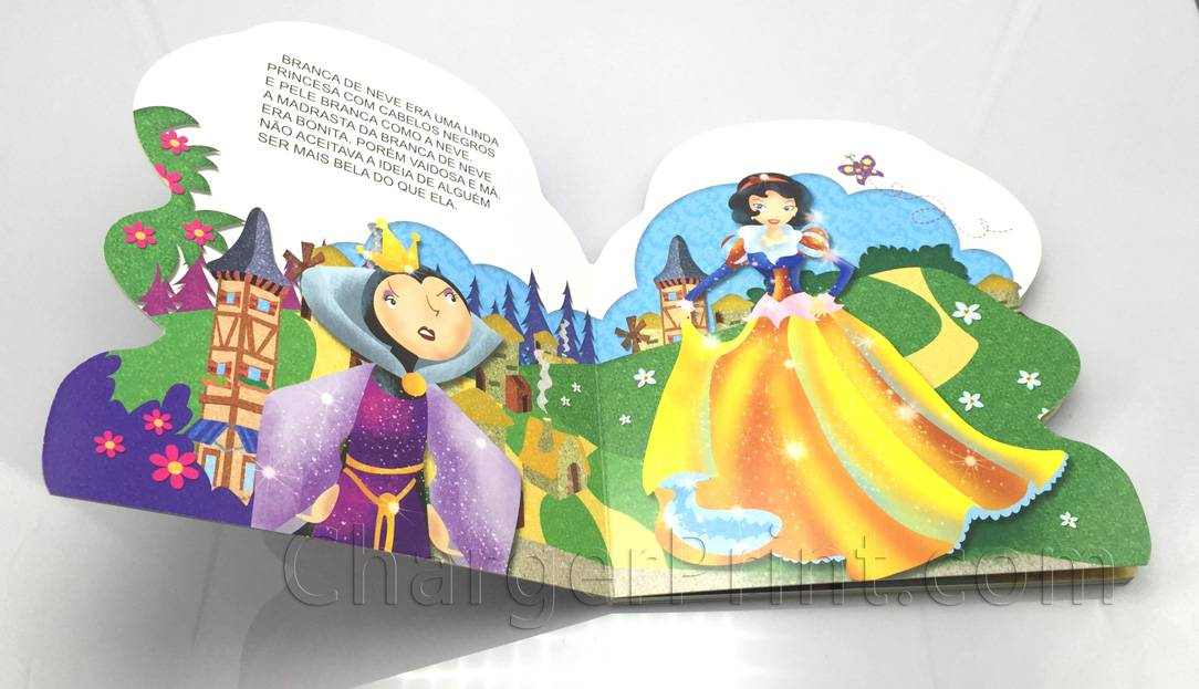 Custom Shape Book Printing