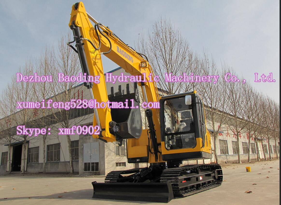 China small BD80 crawler excavator with ISO9001
