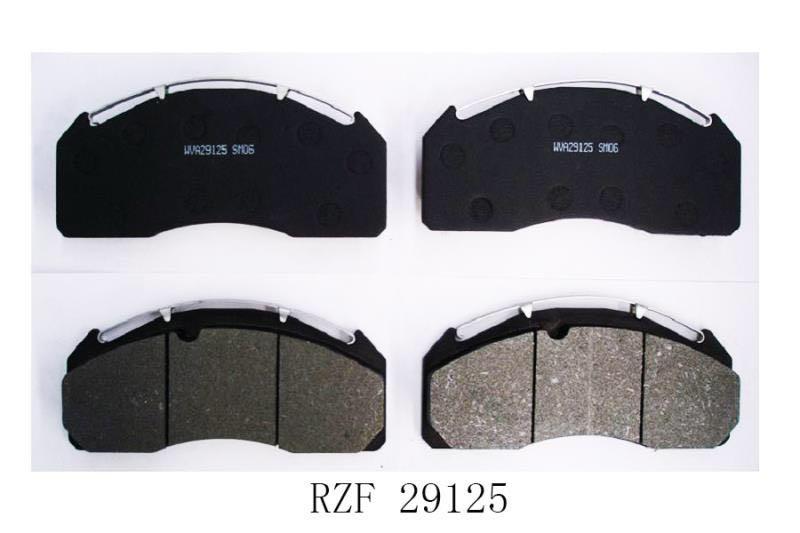 Heavy duty brake pad wva 29125,29277