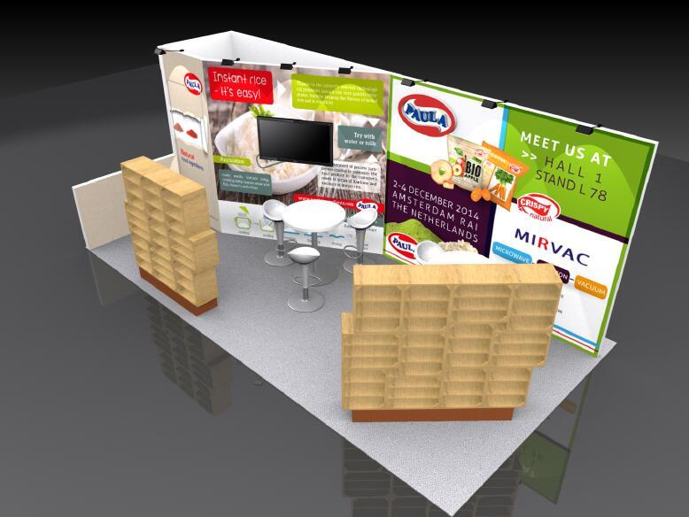 Exhibition display exhibition stands 1020 exhibition standard booth