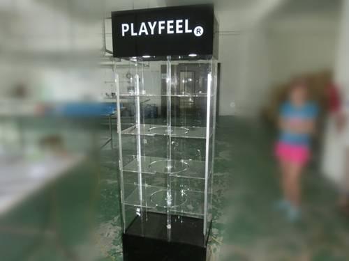 Large acrylic display shelf  acrylic products display shelf