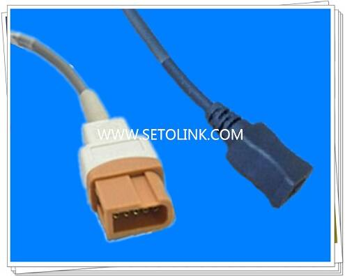 Good Quality Temperature Probe Adapter Extension Cable for Spacelabs