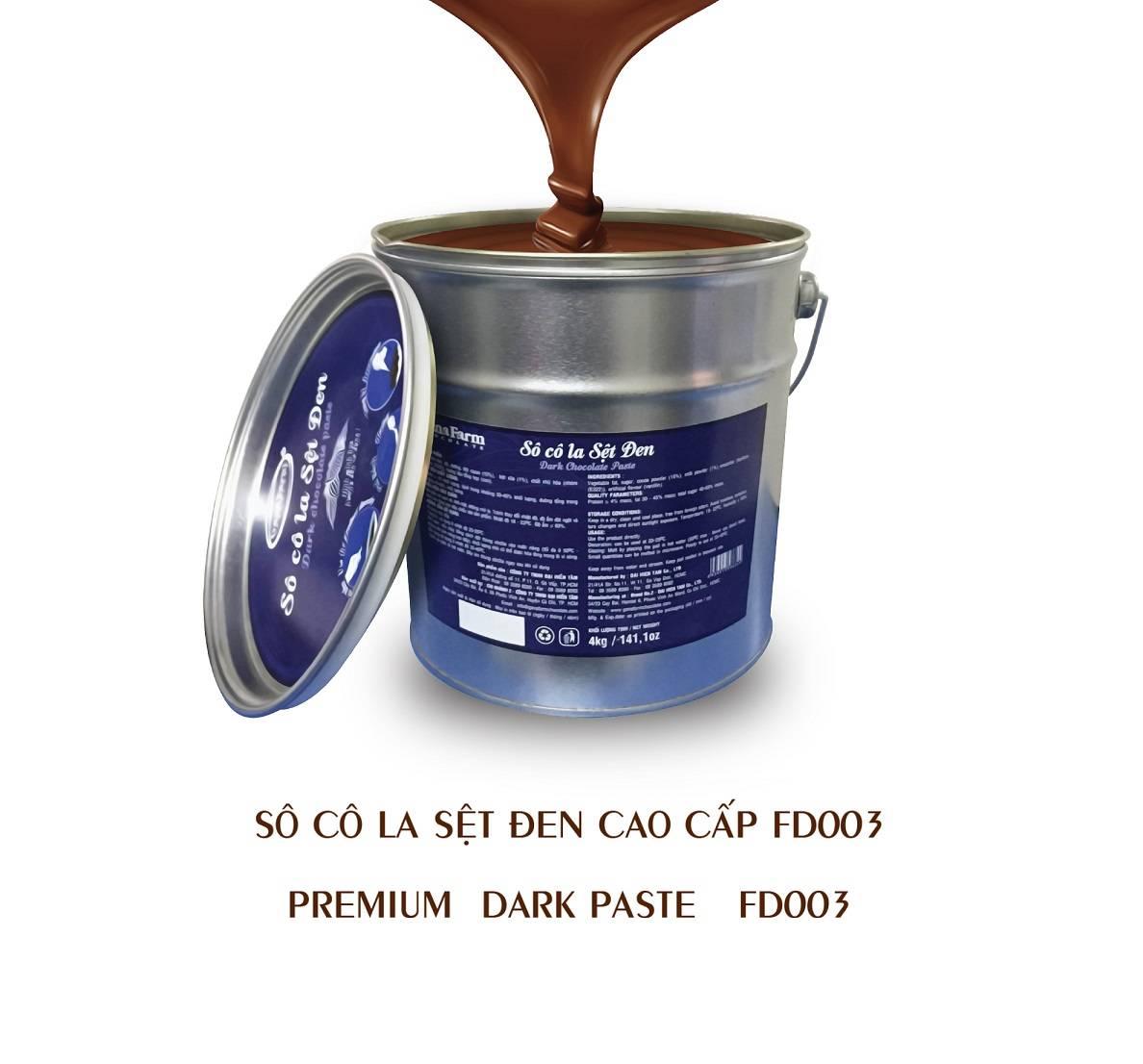 GANAFARM PREMIUM DARK PASTE CHOCOLATE