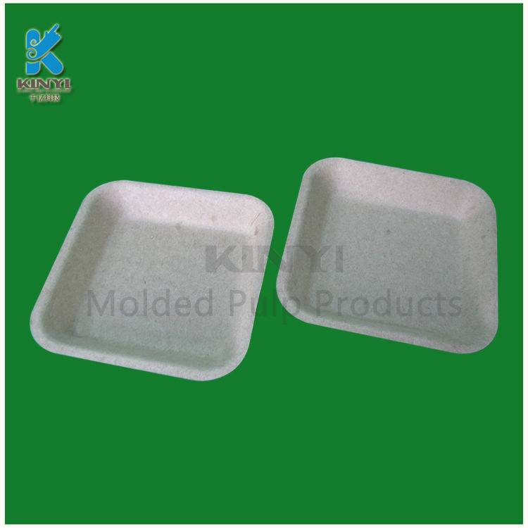 Eco-friendly biodegradable mold pulp tray, dry fruit packaging use