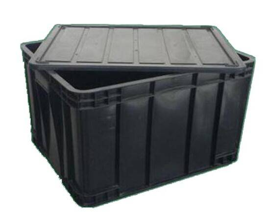 ESD container with lid