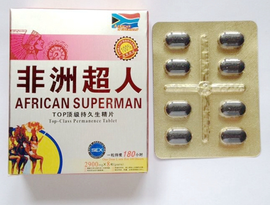 herbal african superman sex products with 8tablets