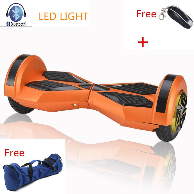Best 8 Inch Hoverboard Bluetooth 2 Wheel Self Balance electric Scooters Bluetooth Boards with Wheels