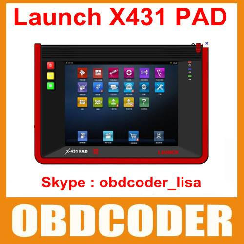 Launch Universal Diagnostic Scanner Launch X431 PAD 3G Wifi Update By Offical Website